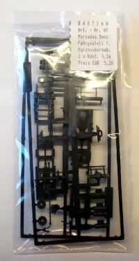 Noch 15025 Figurenset 5 THW-Helfer 1 tragbares Notstromaggregat