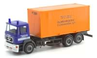 THW ModelleMAN F2000 Containerchassi  Cuxhaven Herpa