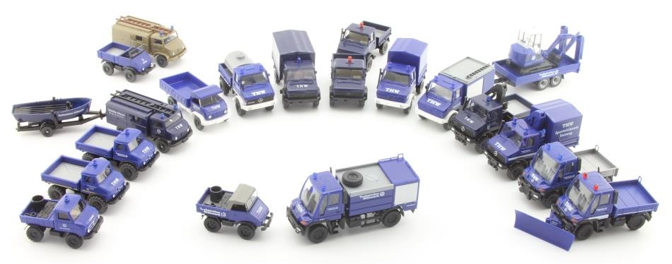 THW-Modellliste